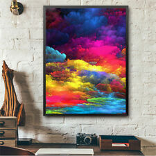 Colorful-clouds full drill diamond embroidery 5d diy diamond painting home`decor