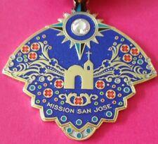 2018 World Heritage Historical Mission San Jose Fiesta Medal Pinback! FAST SHIP!