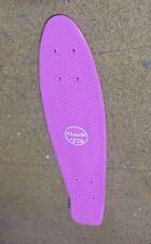 """22"""" PLASTIC PURPLE SKATEBOARD DECK - Skate/Monopatin - LONGBOARD"""