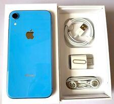 IPhone XR Blue 128 GB Unlocked 4G LTE ATT  Verizon Tmobile Sprint Metro Cricket