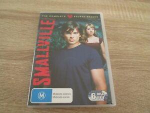Smallville The Complete Fourth Season (DVD Region 4) - Free Postage