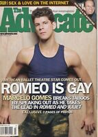 The Advocate February 4 2003 Marcelo Gomes Herb Ritts 060719DBE