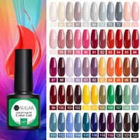 UR SUGAR 7.5ml Smalto Gel Nail Polish Green Soak Off Gel Top Coat Manicure Gifts
