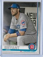 2019 Topps series 1 Photo Variation #210 Kris Bryant Chicago Cubs