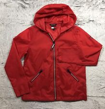 Tommy Girl Jeans Jacket, Red, Large, Full Zip, EUC (351)