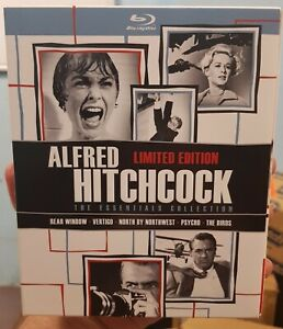 Alfred Hitchcock: The Essentials Collection - Blu-Ray Box Set - Region Free