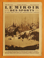 Le Miroir des Sports 518 du 24/12/1929-Cross Noël Cyclo-Pédestre.Herry.premier