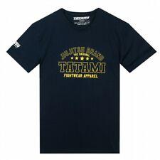 Tatami JJB T-Shirt Navy Tee BJJ Casual No-Gi Grappling Workout Jiu Jitsu Marke
