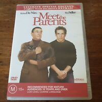 Meet the Parents Ultimate Special Edition DVD R4 Like New! FREE POST