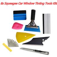 8X Car Window Tint Tools for Auto Film Tinting Scraper Application Installation