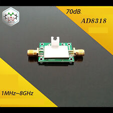 AD8318 1MHz-8GHz 70dB Logarithmic Detector amplifier SiGe Log Amp Module RSSI