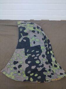 German Waffen SS Oakleaf Reversible Camo Hood WW2 WWII Field Desert