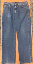 $325 Canali Sportswear Regular Fit Straight Leg 5 Pocket Denim Blue Jeans 38/31