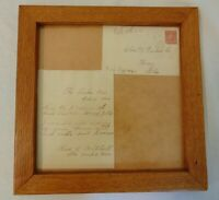 Charles H Perdew Sr Duck Decoys Original Letter From Charles A Mitchell 1906