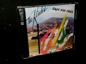The Kinks 2 CD Set Live at the US Festival 1982