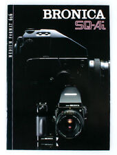 BRONICA SQ-AI 6x6 MEDIUM FORMAT CAMERA LITERATURE MAGAZINE