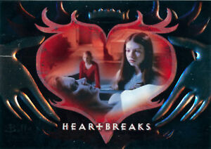 Buffy the Vampire Slayer Connections Heartbreaks Foil Card HB5