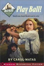 Rosie in Chicago : Play Ball! by Carol Matas (2003, Paperback)