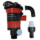 SPX Johnson Pump 48903 1000 Gph Livewell/Aerator Twin Ports 12V