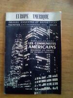 EUROPE-AMERIQUE N°38 1946 Inde - Communistes américains - fin du monde - ONU