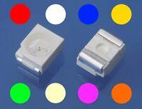 S131 Sortiment 80 Stk SMD LEDs 3528 1210 rot gelb grün weiß blau orange pink ww