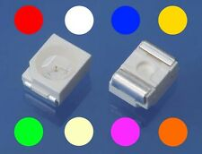 S131 Assortment 80 pcs. SMD LEDs 3528 1210 red yellow green white blue orange