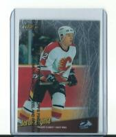 rare JEROME IGINLA calgary flames FINEST TOUCH CARD with protective film