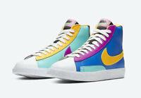 Nike Wmns Blazer Mid 77 Vintage Multi-Color CZ9441-400 GS Women Size 4Y-7Y New