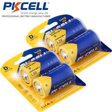 4Pcs D Size Batteries R20P UM-1 1.5V 720min Zinc-Carbon Battery for Flashlights