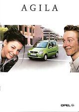 Prospetto/brochure OPEL AGILA 06/2000