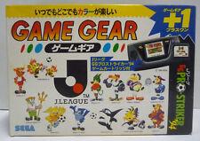 CONSOLE SEGA GAME GEAR PRO STRIKER 94 SOCCER J LEAGUE EDITION NTSC JAPAN BOXED