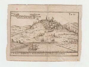 Incisione T. Salmon Castello Tornese 1687