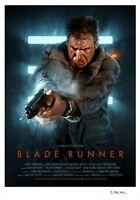 Blade Runner Variant Alternative Movie Print Poster by Brian Taylor NT Mondo