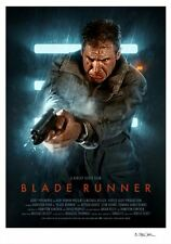 Blade Runner Variant Alternative Movie Print Poster by Brian Taylor NT Mondo