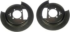 1998-2005 BLAZER S10 PICKUP SONOMA JIMMY BRAVADA PAIR OF REAR BRAKE DUST SHIELDS