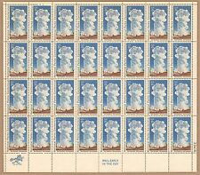{BJ stamps} #1453  Old Faithful, Yellowstone. 8¢ MNH  Sheet of 32. Issued 1972.