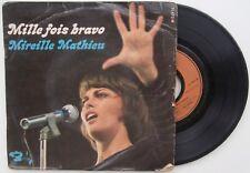 Vinyle Super 45 tr Mireille Mathieu – Mille fois bravo / Priez pour moi / Aeropo