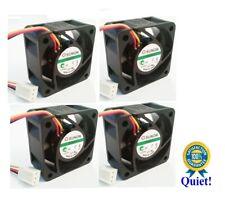 Set of 3X Quiet Sunon Replacement Fans for ZyXEL GS1900-48HP 13dBA Noise