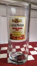 CAPTAIN MORGAN Puerto Rican Rum Drinking Glass~~6 1/4 Inches Tall~Bottom Picture