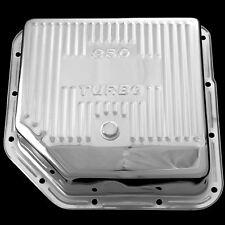 Gm Th350 Chrome Deep Transmission Pan Fits Chevy Pontiac Olds Gm Th350 Trans