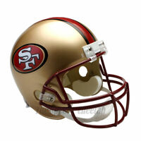 SAN FRANCISCO 49ERS 96-08 THROWBACK NFL FULL SIZE REPLICA FOOTBALL HELMET