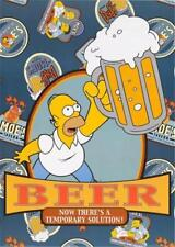 Homer Simpson Beer Temporary Solution 2001 Poster 25x35