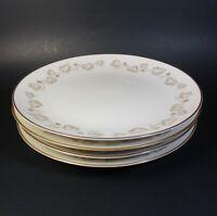 Noritake Ivory China GOLDIVY Salad Plates Set of 4 Plate 7531 Japan Gold Ivy