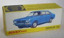 Repro box DINKY Nº 1409 Chrysler 180
