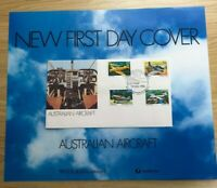 SP83a) 1980 Australia Post Poster First Day Cover Australian Aircraft