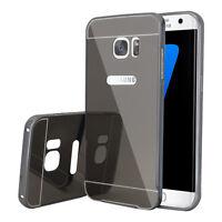 2-in-1 Aluminium Spiegel Schutzhülle für Samsung Galaxy S7 edge G935F/ G935FD