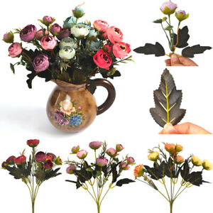 Supply Fake Peony Simulation Autumn Rose Home Decoration Artificial Flower