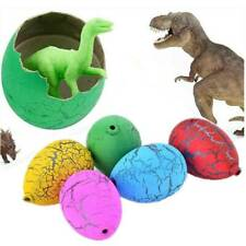 6X Magic Hatching Dinosaur Add Water Growing Dino Eggs Inflatable Child Kid Toy@