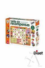 TABLA DE RECOMPENSAS MAGNETICA 12 TAREAS JUEGO EDUCATIVO