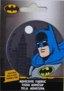 Batman Head Adhesive Iron On Motif